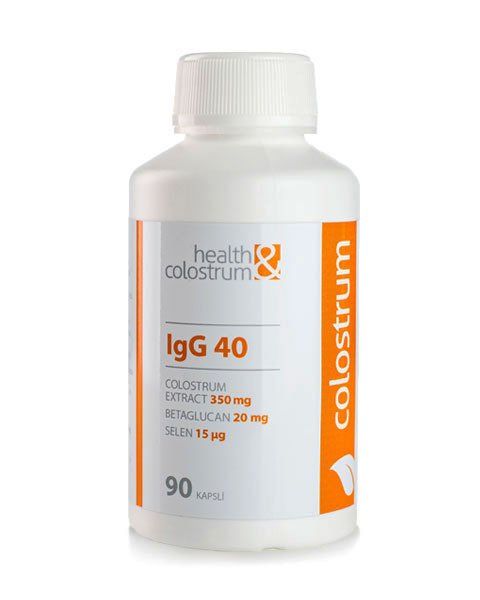 BIO colostrum kapsle + betaglucan, 90 ks