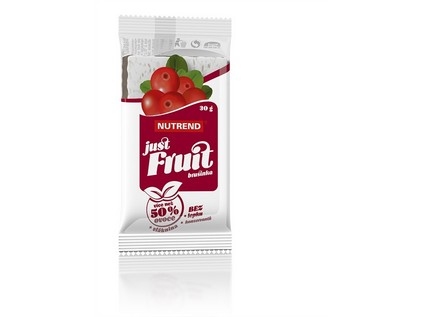 Just fruit - brusinka, 30g, Nutrend