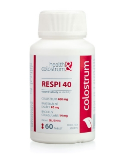 Colostrum Respi 40, 60 cucavých tablet