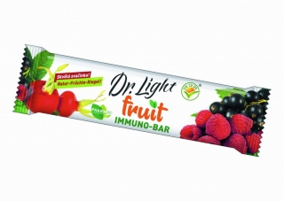 Ovocná tyčinka Dr. Light fruit - Immuno - bar, 30g