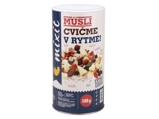 Cvičme v rytme - müsli, 500g, Mix it