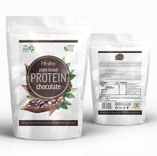Protein chocolate, 90g, Fit-day