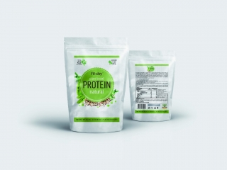 Protein natural, 90g, Fit-day
