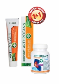 Sada Arthrocann Collagen 60 tablet + gel 75ml, Annabis