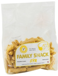 Family snack - sýr, 165g