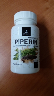 Piperin, 60 tablet, Allnature