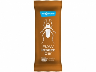 Raw insect bar - ecuador cacao, 40g, Max sport